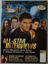 BUFFY CONTRE LES VAMPIRE OFFICIEL 2002 YEARBOOK JAMES CONCERTISTES,AMY WACKER MB