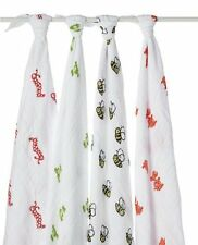 aden + anais Classic Muslin Swaddle Blanket 4 Pack, Mod About Baby
