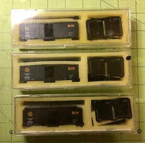 3 SP Overnight 40' Boxcar Kits,  InterMountain Railway Co. N Scale,  READ My ADD