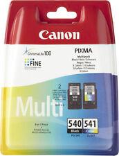 Canon PG540 Black & CL541 Colour Genuine Ink Cartridges For PIXMA MG3150 Printer