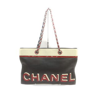 Chanel Tote Bag swanky Black Leather 1718852