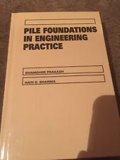 Pile foundations In Engineering Practice BRAND NEW!!