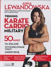 ANNA LEWANDOWSKA - TRENING KARATE CARDIO MILITARY - DVD NOWE / NEW & SEALED