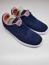 VANS ATHLETIC SHOES ISO NAVY BRAND NEW M 4 W 5.5