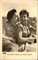 Film Kino Bühne TV Schauspieler Wolfgang Kieling & Gisela Trowe Foto ca. 1950/60