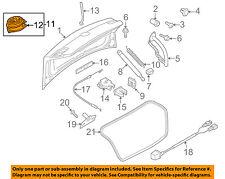 VW VOLKSWAGEN OEM 09-12 CC Trunk Lid-Release Solenoid 5K0827469APULM