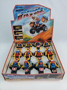"""Vintage Full Box 1980's """"Honda"""" 3-Wheeler Motorcycle die cast Tri-cycle toys"""