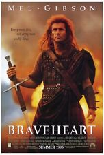 """""""Braveheart"""" Movie Poster [Licensed-New-Usa] 27x40"""" Theater Size (Mel Gibson)"""