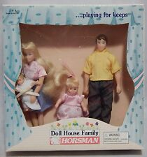 Horsman Doll House Family of 4 Dolls