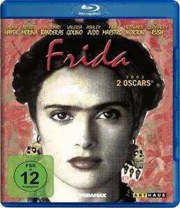 Frida [Blu-ray/NEU/OVP] Biopic über Frida Kahlo mit Salma Hayek, Alfred Molina,