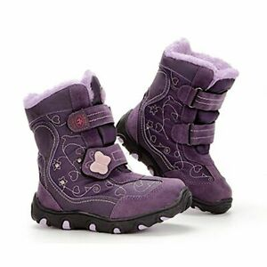 Children Winter Snow Boots Baby Shoes Fashion Plus Velvet Warm Waterproof Unisex