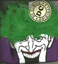 Dc Comics Joker The Original Flair Hair Beanie Halloween Hat
