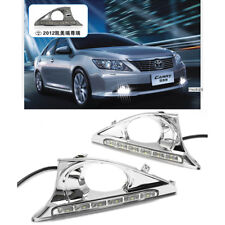2pcs Car LED DRL Daytime Running Lights LED Lamp For Toyata Camry 2012~2013 Year