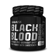 Biotech USA Black Blood Pre Workout Booster Arginin Bonus 300g
