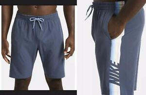 "Nike Water Repellent 9"" Swim Trunks Mens Size Large ~ NWT - $52"
