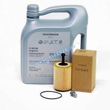 OE VW Filtro de Aceite + 5W30 Servicio Inspección Audi A3 A4 A5 A6 Q5 1.9TDI