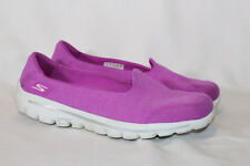 Skechers GOwalk 2 Super Sock Walking Sneaker Courage 9 medium magenta