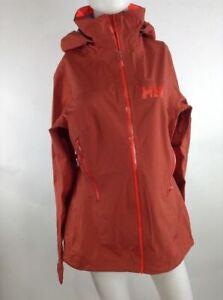 Helly Hansen Women Vanir Salka Jacket Brick Red Medium 62779-199 MSRP $300.00 C