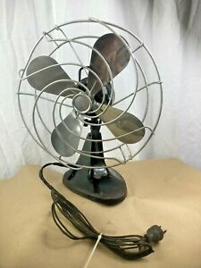 Vintage Montgomery Ward Electric Fan Oscillating 115V TESTED WORKING MW