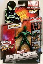 Spider-Man Marvel Legends black and green costume Arnim Zola Build a Figure 2012