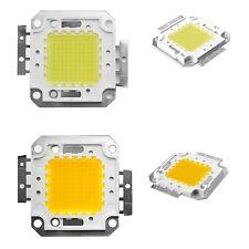 100W Cool White 6500K High Power LED Panel Chip 9000LM 100 Watt Lamp Light DIY