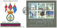 2007 invention (miniature sheet) - bfpo couverture-stampex H / S-seulement 12 exister!