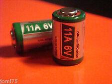 2 piles Batterie ALKALINE Telecommande 11A 6V MN11 L1016 AG11 A11 CX21A Chrono