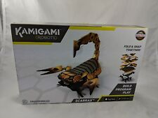 Mattel Kamigami Scarrax Scorpion Robot Build Program Play NEW