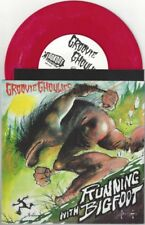 "Groovie Ghoulies ""Running With Bigfoot"" 7"" NM Kepi Ghoulie Nofx The Queers"