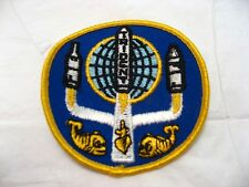 Vintage USA NAVY TRIDENT MISSILE Patch Submarine Military Collectible