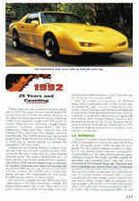 1992 Pontiac Firebird Trans Am + GTA Article + VIN Decode - Must See !!