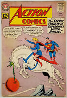 Action Comics #293 GD/VG 1962 Orgin Of Comet Silver Age DC Superman Comic