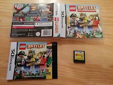 Lego Battles - Nintendo DS Complete with Manual