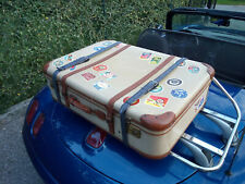 Old luggage, suitcase, for Fiat Barchetta or another old car