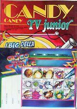 CANDY CANDY N.182 FABBRI EDITORI 1984 TV JUNIOR LADY OSCAR CON CARTOLINA