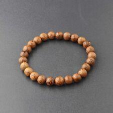 Men Women 8MM Multilayer Wooden Beaded Bracelet Jewelry Stretch Bangle ABJ001-5