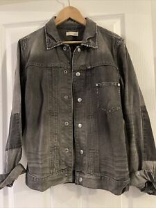 Mens Allsaints Denim Jacket Size Small