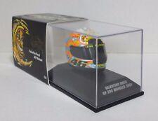 MINICHAMPS VALENTINO ROSSI AGV CASCO HELMET 1/8 MOTO GP MUGELLO 2001 NEW RARE