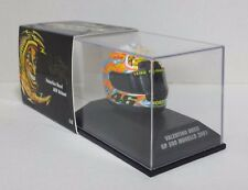 MINICHAMPS VALENTINO ROSSI AGV CASQUE HELMET 1/8 MOTO GP MUGELLO 2001 NEW RARE
