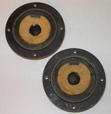 "Heppner 3"" tweeters (4½"" mount flanges) with factory cone damping—16Ω—Usa, 1975"