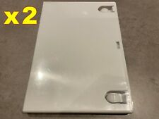 2x NINTENDO Wii Official Genuine Replacement Empty Game Cases White *V.GOOD