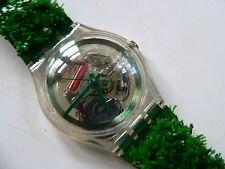 1997  Swatch Watch Garden Turf SKZ103 Collector Club # 7 SKZ103