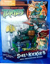 """Teenage Mutant Ninja Turtles 5"""" Shell Kickers Mike Michelangelo New Factory Seal"""