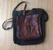 Ashwood Mens Brown Leather Shoulder Bag