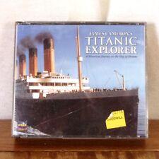 James Cameron's Titanic Explorer 3 X CD Rom Box PC 1997 Windows / Mac