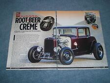 "1932 Ford 5-Window Highboy Coupe Retro Hot Rod Article ""Root, Beer & Crème"""
