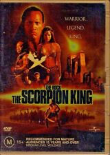 THE SCORPION KING - DVD R4 (2002) The Rock - Good Cond FREE POST