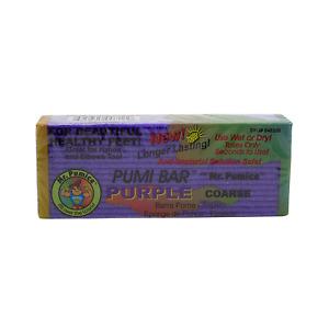 Mr. Pumice Purple Pumi Bar Extra-Coarse Callus Remover, Pedicure Stone