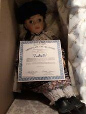 """Brand New In Box Ashton Drake Doll """"Isabelle"""""""