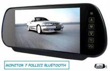 SPECCHIETTO RETROVISORE MONITOR 7 POLLICI BLUETOOTH VIVAVOCE. USB SD MP5
